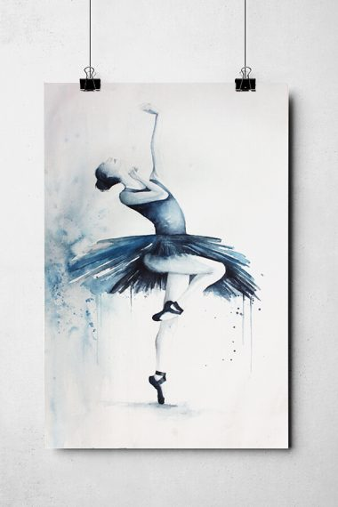 Ballett Aquarell Studio Jais
