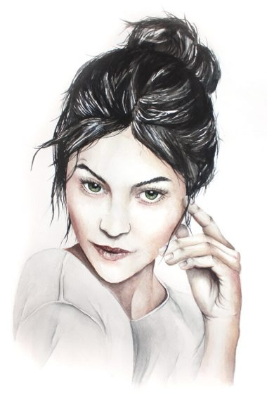 aquarell Portrait. Studio Jais